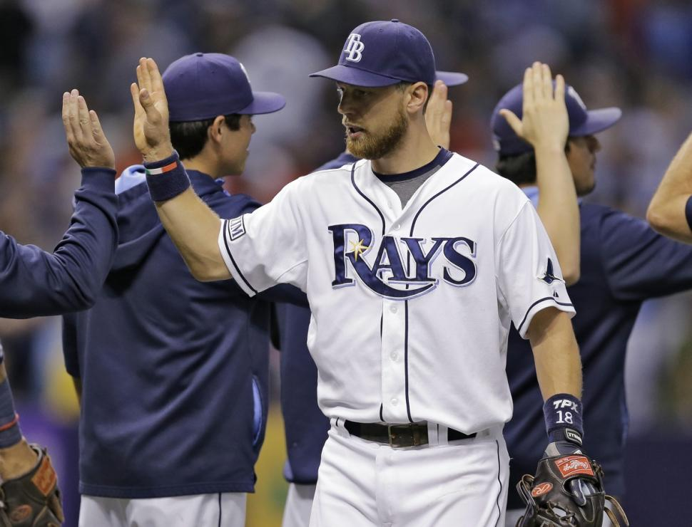 Just like that, Ben Zobrist and the Rays have something to play for in the second half of the season.