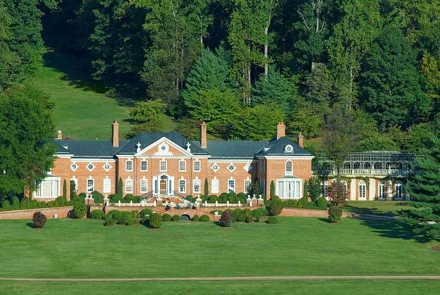 Trump owns onetime socialite Patricia Kluge's former estate in rural Virginia